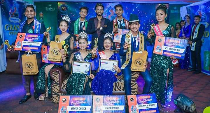 """अनु केसी बनिन् """"मोडल अफ नेपालगन्ज २०२१"""" को विजेता"""